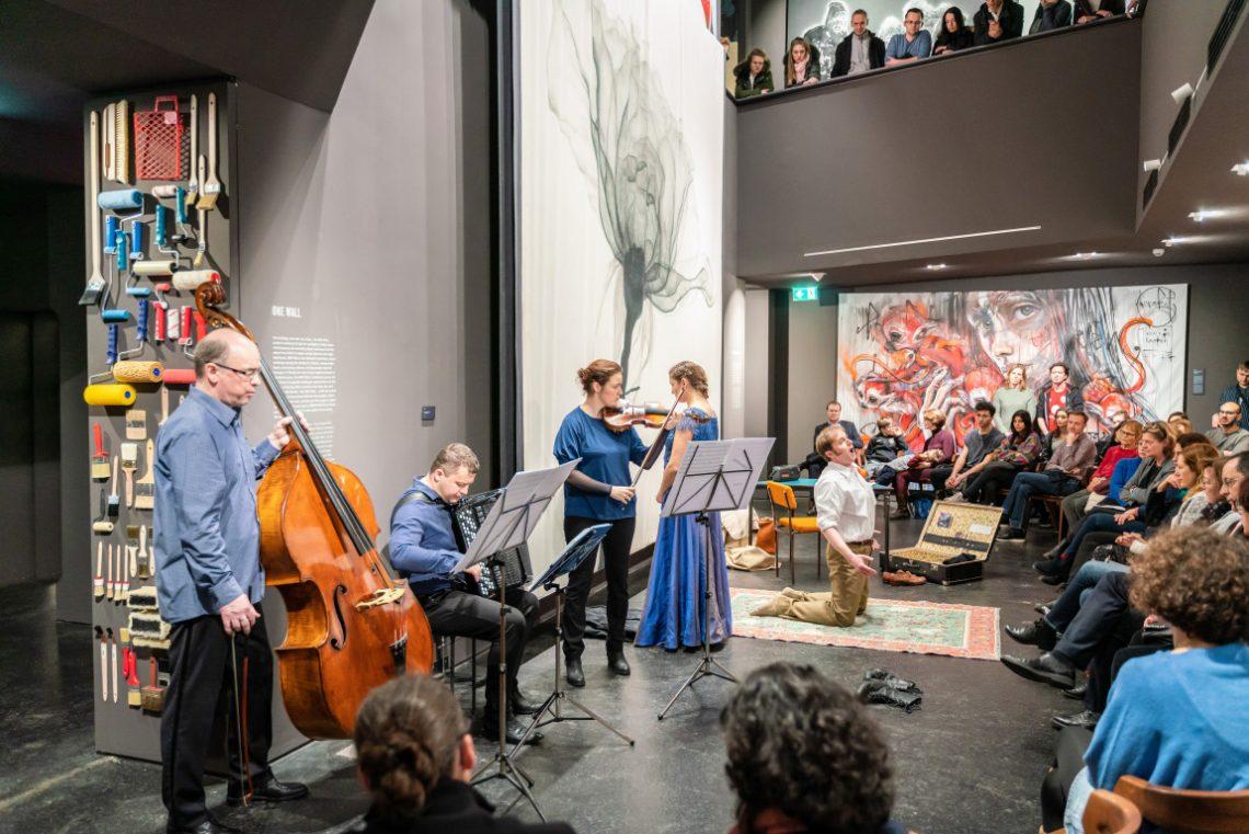 Opern Konzert bei Urban Nation der Stiftung Berliner Leben