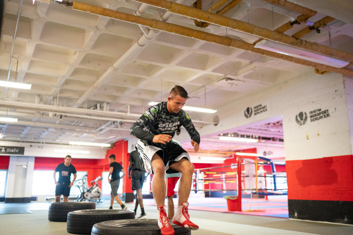 Stiftung Berliner Leben, Wir aktiv. Boxsport & mehr: Training Jugendgruppe im Isigym Boxsport Berlin e.V. , Berlin