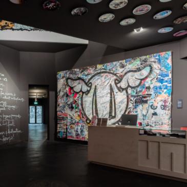 Eingangsbereich der Urban Nation Ausstellung von Stiftung Berliner Leben