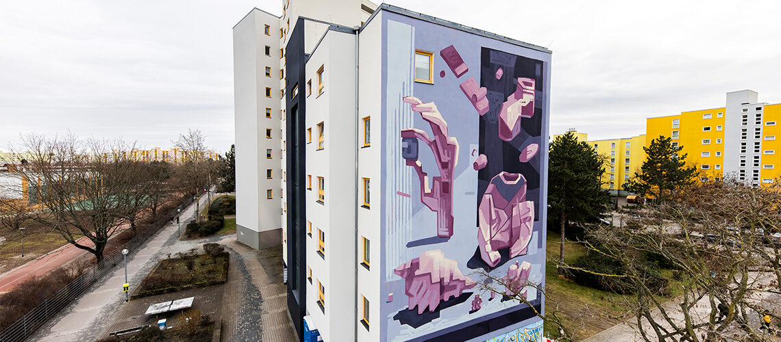 Mural Diogo Ruas und Jagoda Cierniak