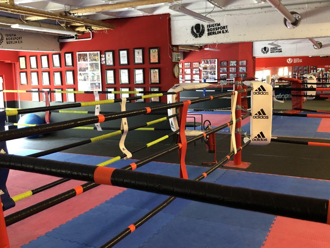 Boxring im Isigym Boxsport Verein