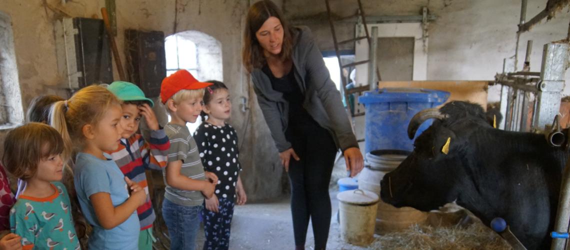 Bauernhoffahrt Sarah Wiener Stiftung