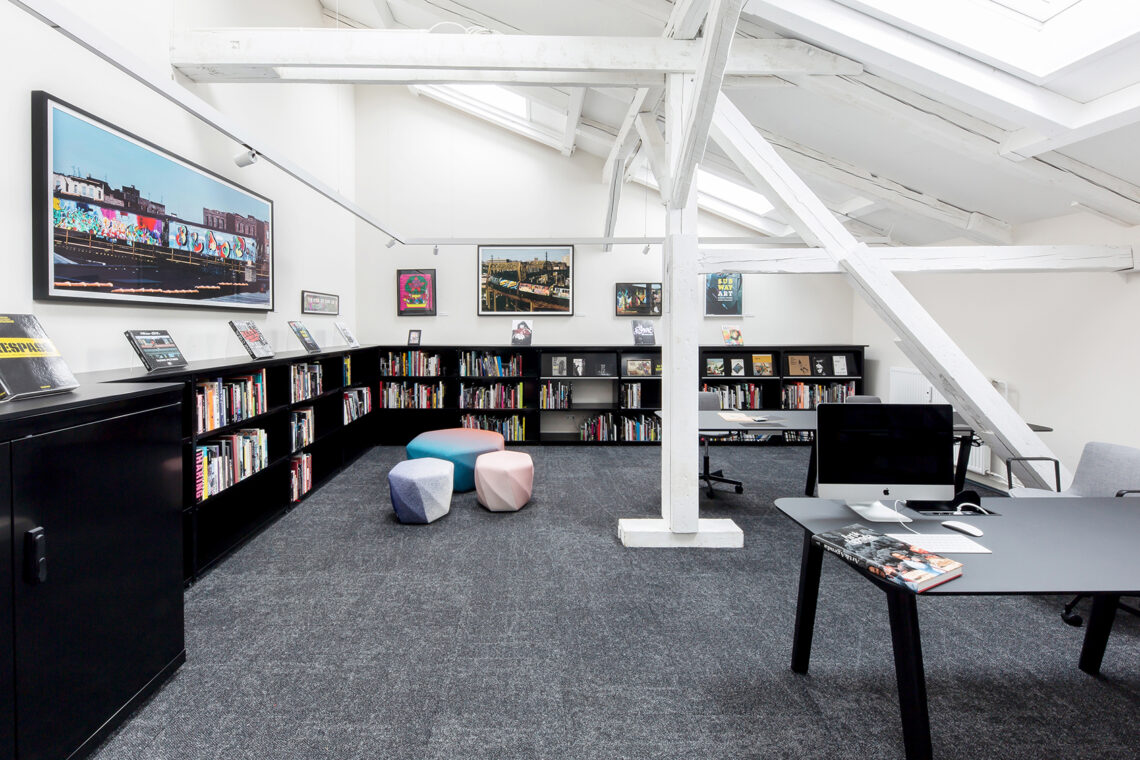 Martha Cooper Library URBAN NATION Museum