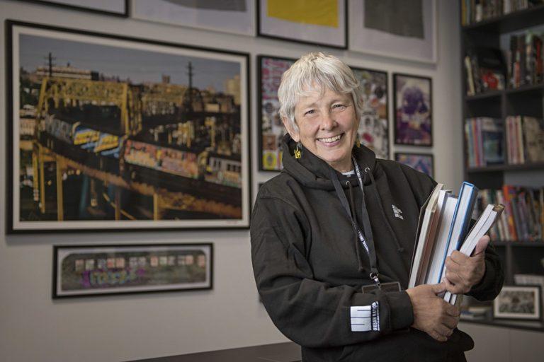 Martha Cooper in Martha Cooper Library