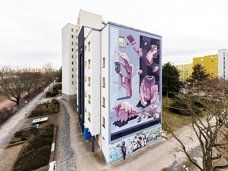 Mots Mural Berlin