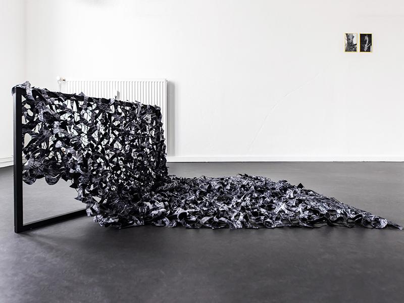 "Felicitas Fäßler Kunstwerk ""Camo"""